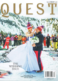 Quest Magazine Press Release Cover
